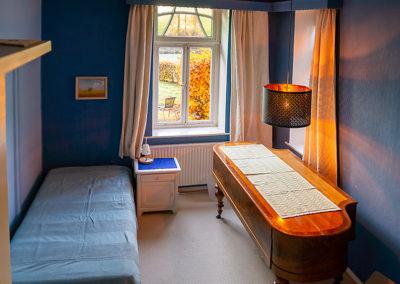 Das blaue Zimmer im Harbergen Retreat Zentrum